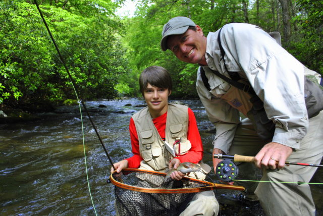 Great Smoky Mountains National Park, Fly Fishign the Smokies, Fly Fishing Guides, Fly Fishing Tours,