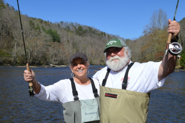 Paula Deen, Fly Fishing the Smokies, Fly Fishing Gatlinburg, Smoky Mountains, Wade Trips