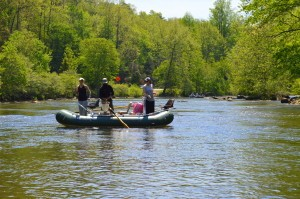 Fly Fishing the Smokies, Float Trips, Tuckasegee River