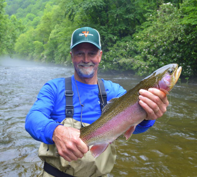 Cherokee Fly Fishing Guides, Raven Fork, Trophy Trout,
