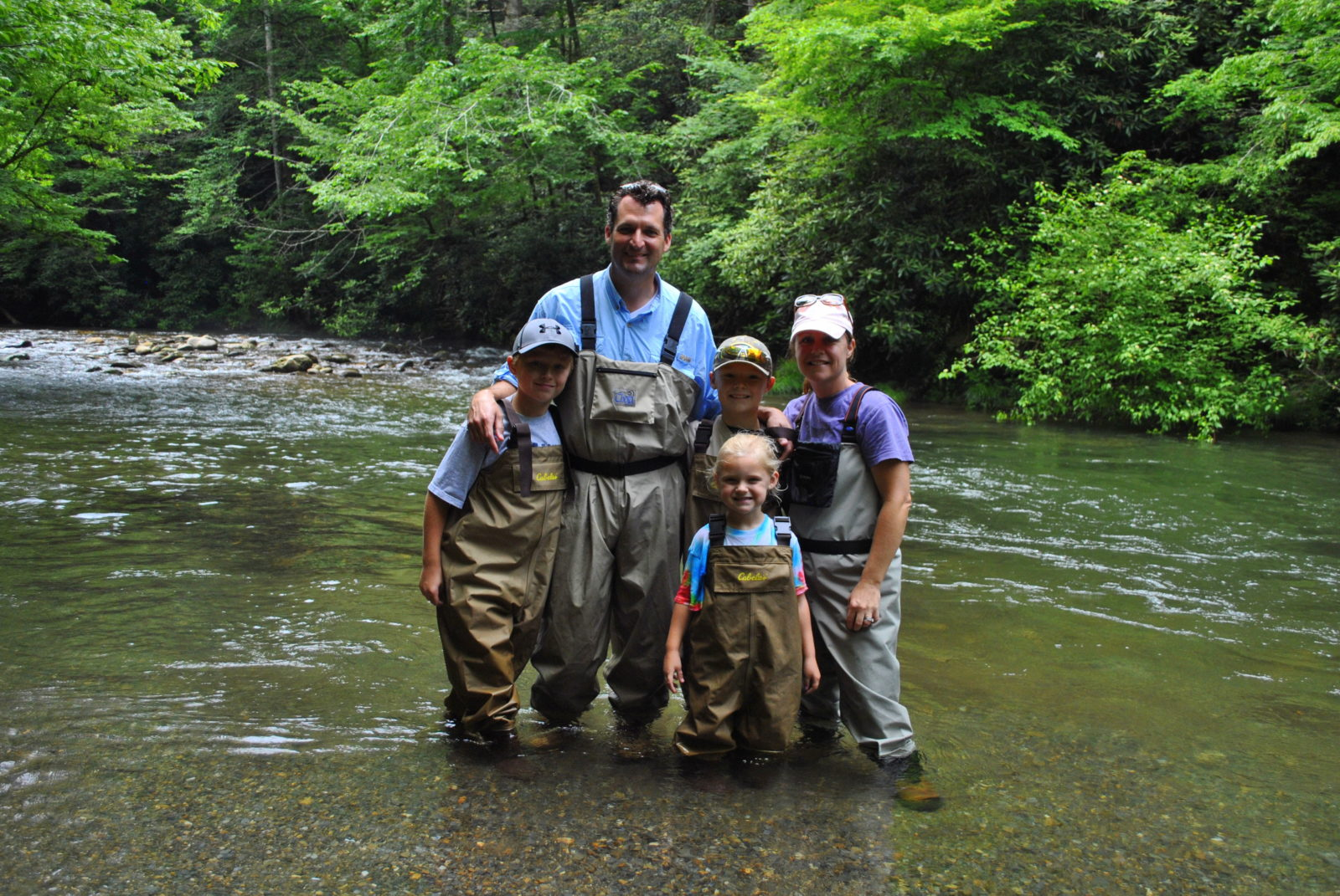 Fly fishing guides and trips in gatlinburg and pigeon forge tn for Tennessee trout fishing